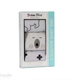 Bubba Blue Bubba Blue Polar Bear 3pack Bib Gift Box