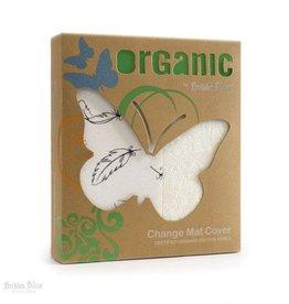 Bubba Blue Bubba Blue Feathers Organic Cotton Change Mat Cover
