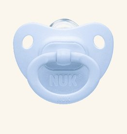 NUK Nuk 2 Pack Silicone  Baby Blue