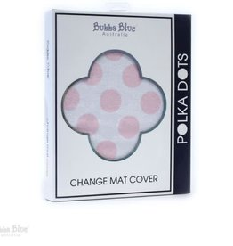 Bubba Blue Bubba Blue Classic Polka Dot Change Mat Cover