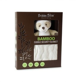 Bubba Blue Bubba Blue Bamboo White Security Blanket