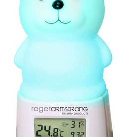 Roger Armstrong Roger Armstrong Teddy Colour changing thermometer night light Multi
