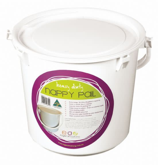 Roger Armstrong Roger Armstrong Nappy Pail Lid White