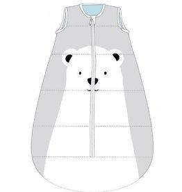 Baby Studio Baby Studio My First Cotton Fleece Winter Sleeping Bag - 3.5 Tog Polar Bear 0-6M