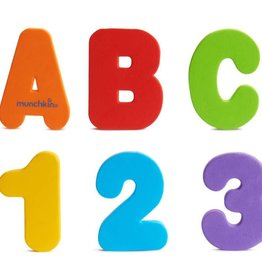Munchkins Munchkins Bath Letters & Numbers