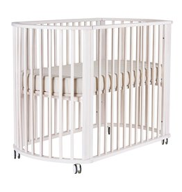 BeBecare BebeCare Nordica Cot Bed with Mattress