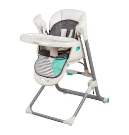 Childcare Childcare Argent 2 in 1 Swing Highchair Aztec Teal