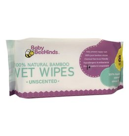 Baby BeeHinds Baby BeeHinds 100% Natural Bamboo Wet Wipes