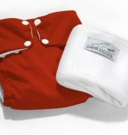 Pea Pods Pea Pods Reusable Nappies Red