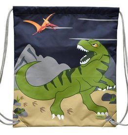 Bobble Art Bobble Art Drawstring Bag Dinosaur