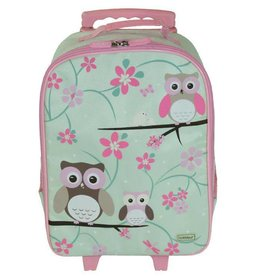 Bobble Art Bobble Art Wheely Bag Owl