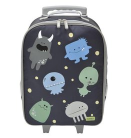 Bobble Art Bobble Art Wheely Bag Monster