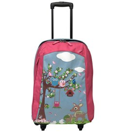 Bobble Art Bobble Art Cabin Luggage Woodland
