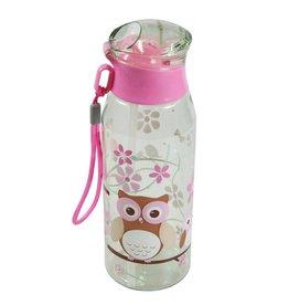 Bobble Art Bobble Art Plastic Drink Bottle Owl