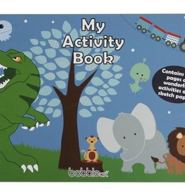 Bobble Art Bobble Art Activity Book Dinosaur