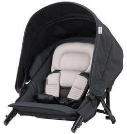 Steelcraft Strider Compact Deluxe Edition Second Seat Black Linen