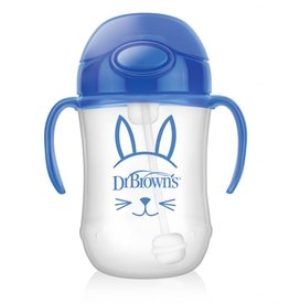 Dr Browns Dr Brown's 270 ml Baby's First Straw Cup w/ Handles