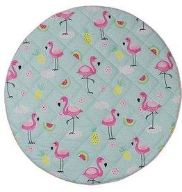 Lolli Living Lolli Living Flamingo Round play mat