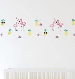 Lolli Living Lolli Living Flamingo Wall decal set - Flamingo
