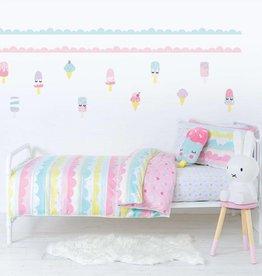 Lolli Living Lolli Living Ice Cream 2pc Single bed duvet set
