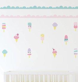 Lolli Living Lolli Living Wall decal set - Ice Cream