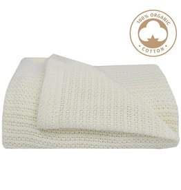 Living Textiles Living Textiles Organic Cot Cellular Blanket
