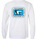 FL Keys Fishing Guides Assoc. L/S Tee Blue