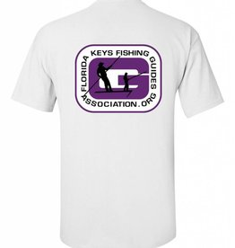 FL Keys Fishing Guides Assoc. S/S Tee Purple