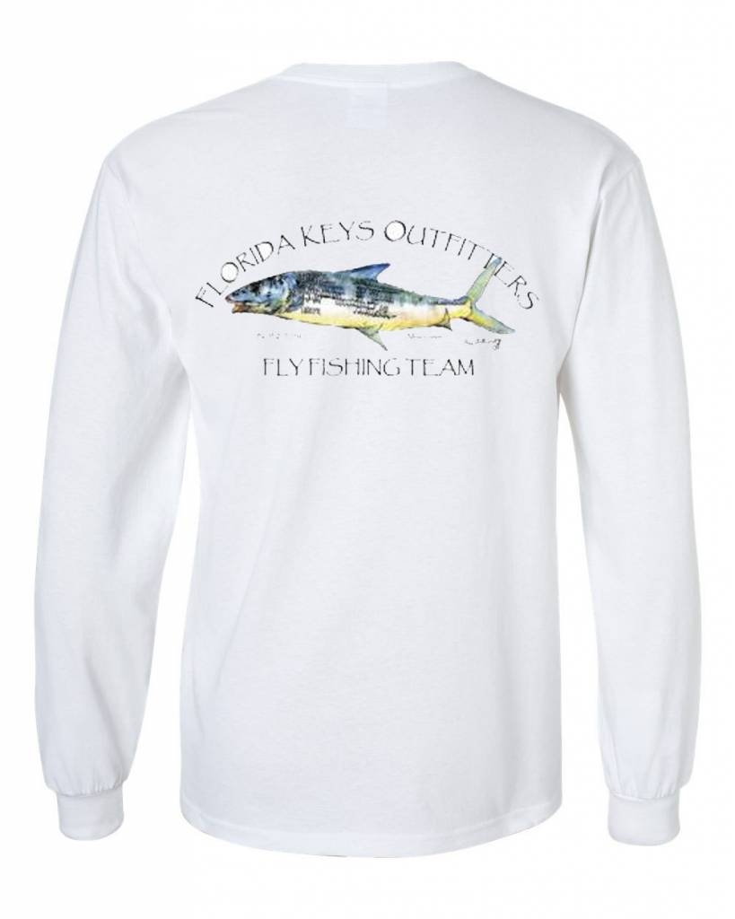 Fko bonefish fishing team l s shirt florida keys outfitters for Fishing team shirts