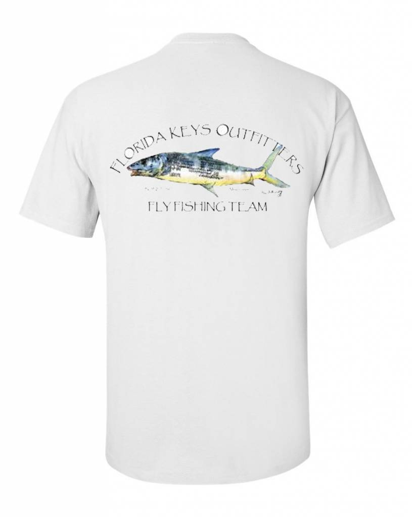 Fko bonefish fishing team s s shirt florida keys outfitters for Fishing team shirts