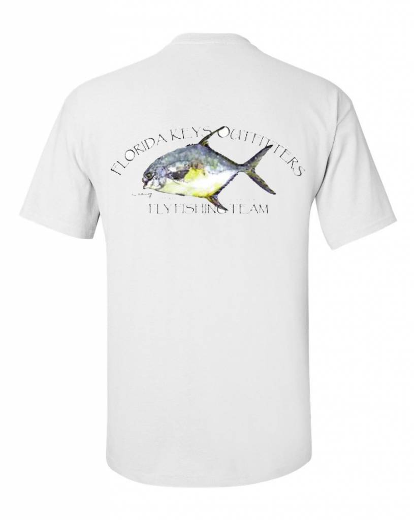 Fko permit fishing team s s shirt florida keys outfitters for Fishing team shirts