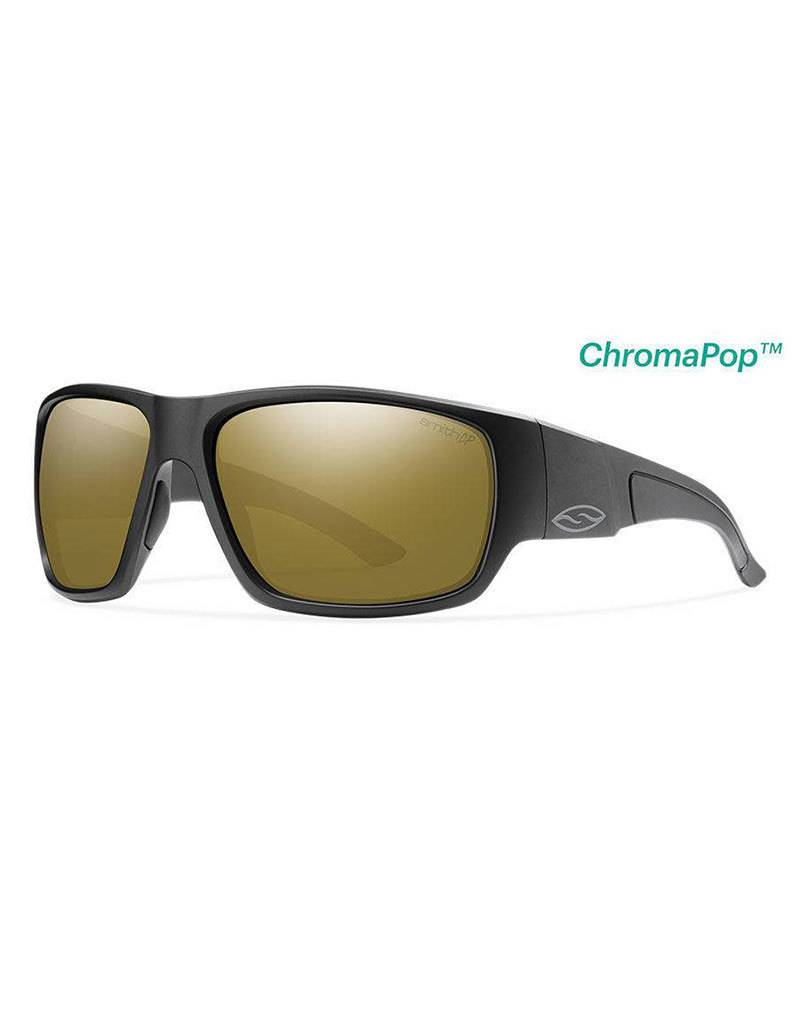 Smith Dockside, Matte Black Frame, Polar Bronze Mirror Chromapop Lens