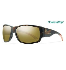 Smith Dockside,  Howler Matte Tortoise Frame, Polarized Bronze Mirror Chrom Lens