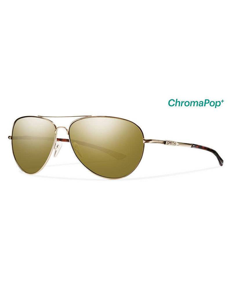 Smith Audible,  Gold Frame, Polarized Bronze Mirror Chrom Lens