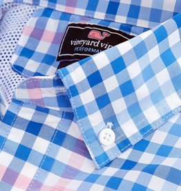 Vineyard Vines Harbor Shirt Salt Island Check