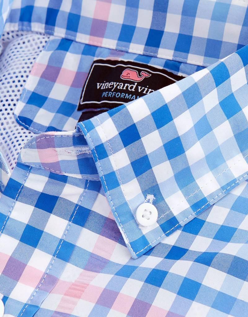 Vineyard Vines Harbor Shirt Salt Island Check