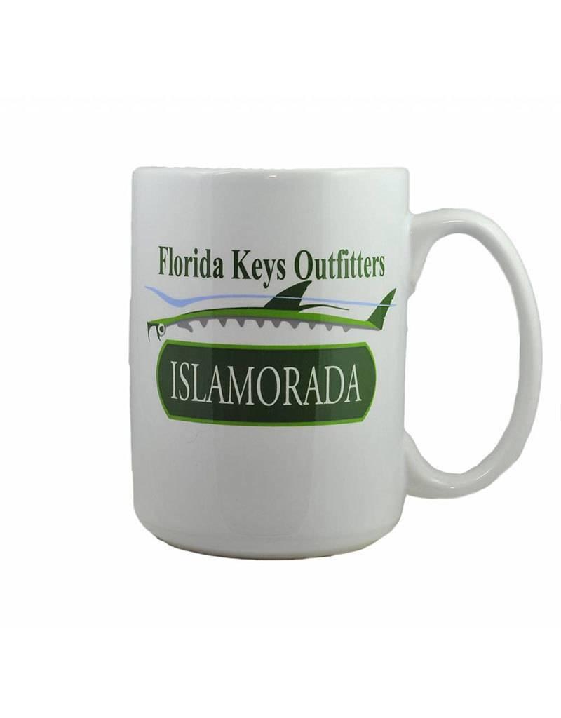 El Grande Coffee Mug Islamorada Tarpon Logo
