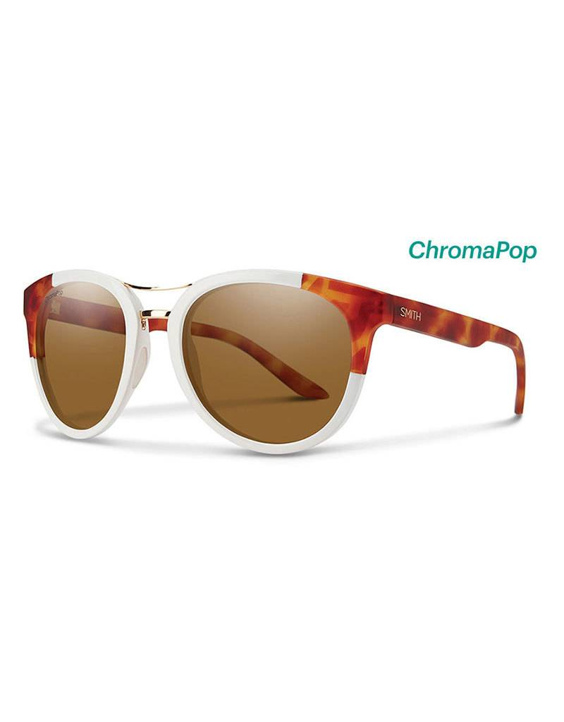 Smith Bridgetown White Honey Tortoise Chrompop Polarized Brown