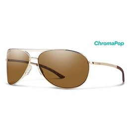 Smith Serpico Gold Chromapop Polarized Brown