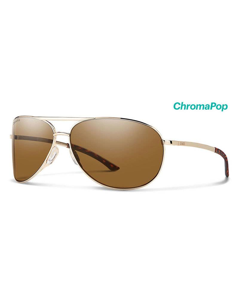 Smith Serpico Gold Chromapop Polarized Brown