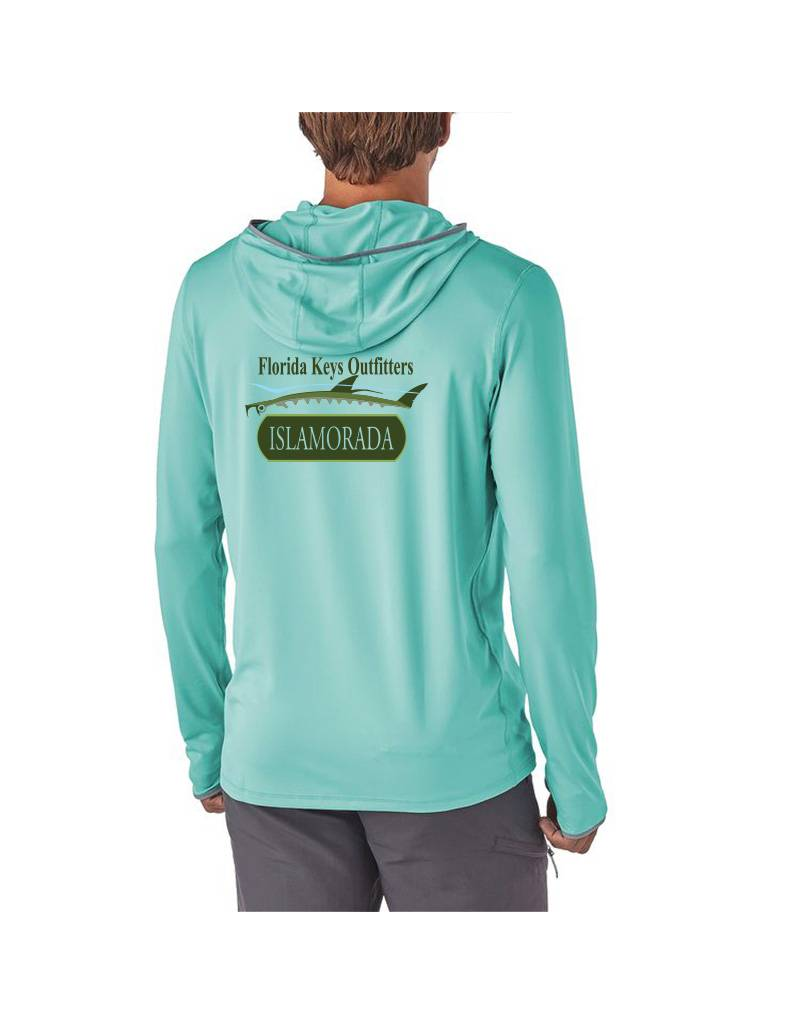 Patagonia M's Tropic Comfort Hoody II FKO/Islamorada Logo