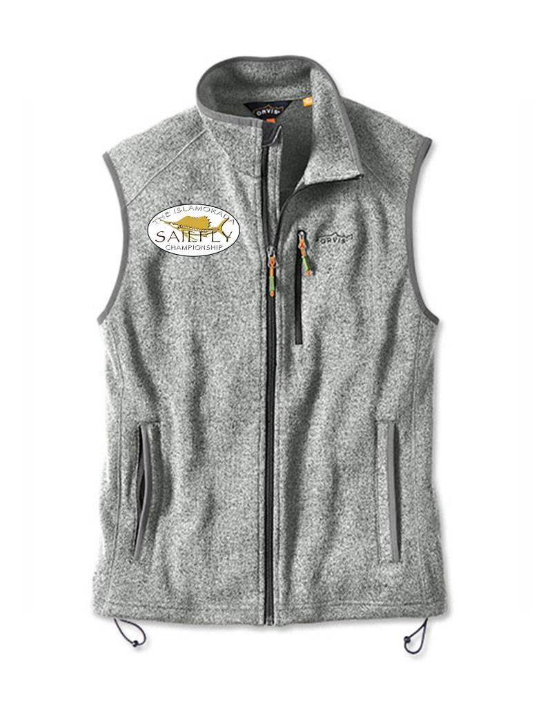 Orvis Sweater Fleece Vest Sailfly