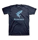 Simms Topo Camo Tarpon T-Shirt