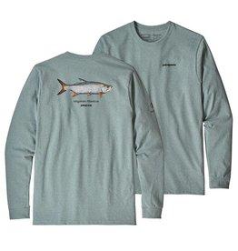 Patagonia M's L/S Tarpon World Trout Responsibili-Tee Shirt