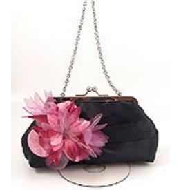 Golden Stella Handbag With Wild Flowers