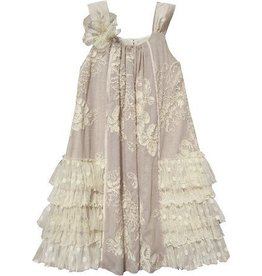 Cream Brulee Slvlss Dress