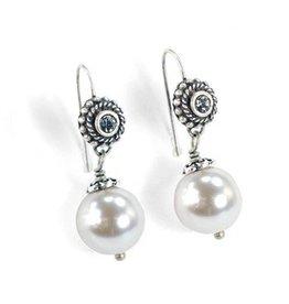 Sweet Romance Laguna Beach Pearl Earrings Ice Pearl