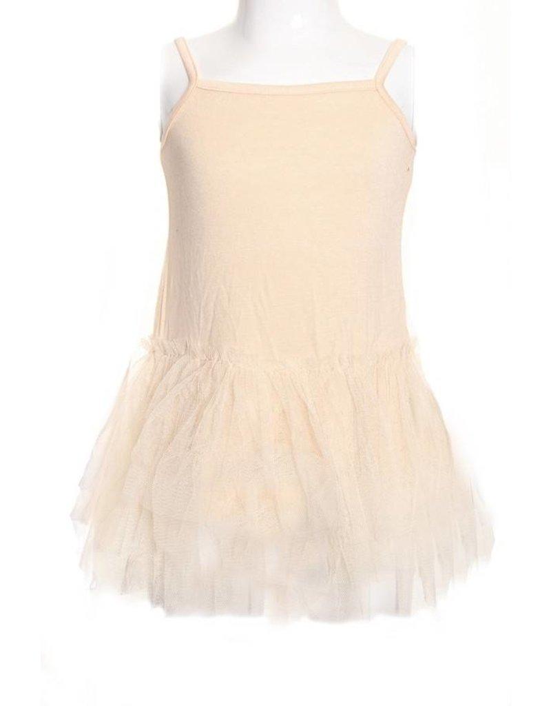 SassyBling Slip Dress w/ Tulle Skirt