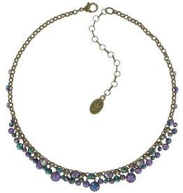 Konplott Blue/Lila Waterfall Necklace