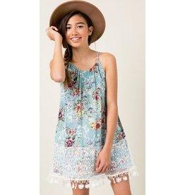 Hayden Los Angeles Floral Tank Dress